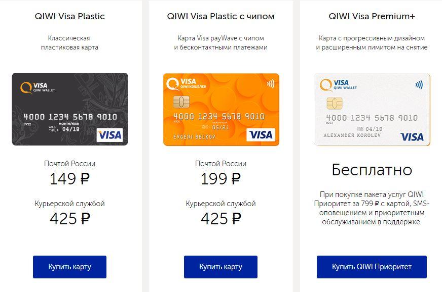 Как оформить пластиковую карту Киви кошелек: где и как можно заказать 2