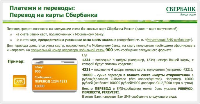 Как сделать перевод с карты сбербанка на карту через телефон