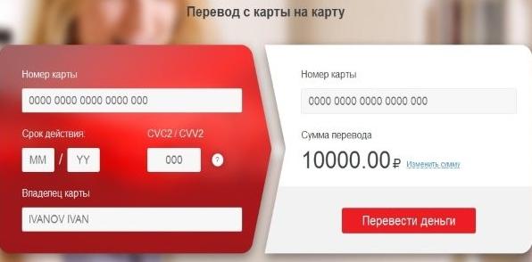 Как перевести деньги с карты Виза на карту Виза: возможные способы 4